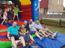 August 12 Richard was joined by family and friends for his 'Brave the shave'. The total raised was £798.40.....amazing effort!