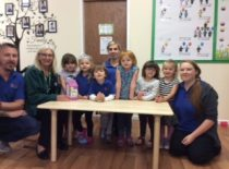 I learn education nursery students, staff and parents raised a fantastic £150 in Sept 2016. Well done and thank you